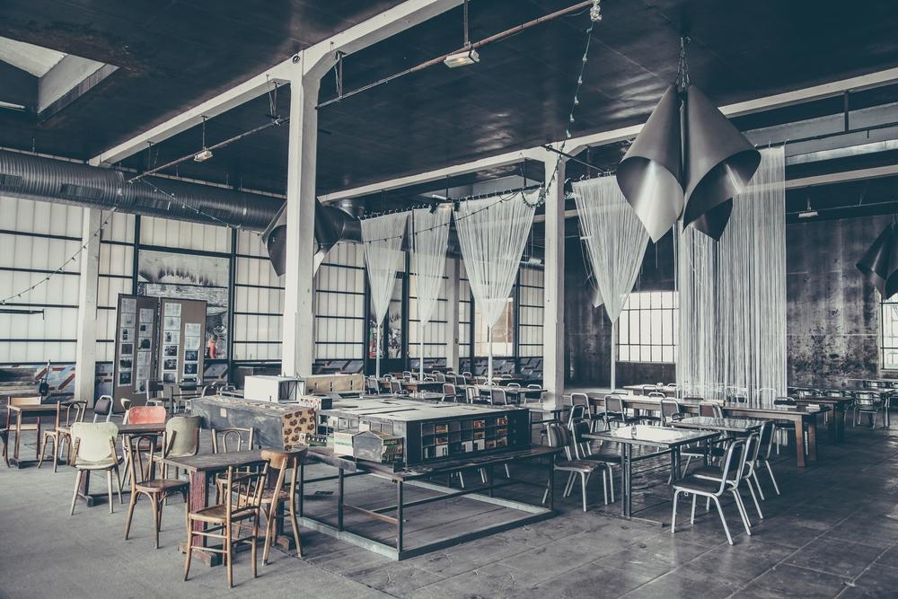 Интересный дизайн ресторана