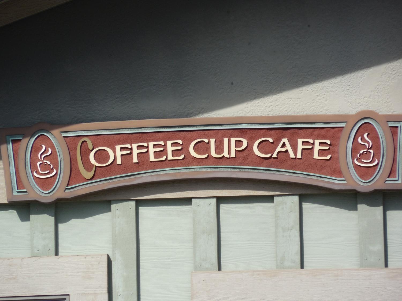 Дизайн вывески кофейни фото