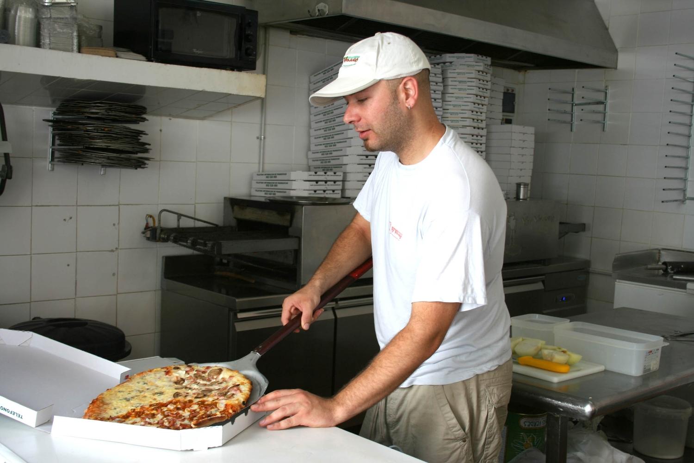 Упаковка пиццы фото
